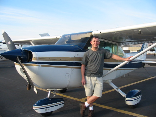 Thursday October 10th 2002, 3pm, N5766J, 1.4H FIRST SOLO!